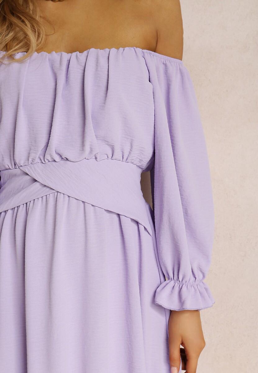Liliowa Sukienka Danaliphis