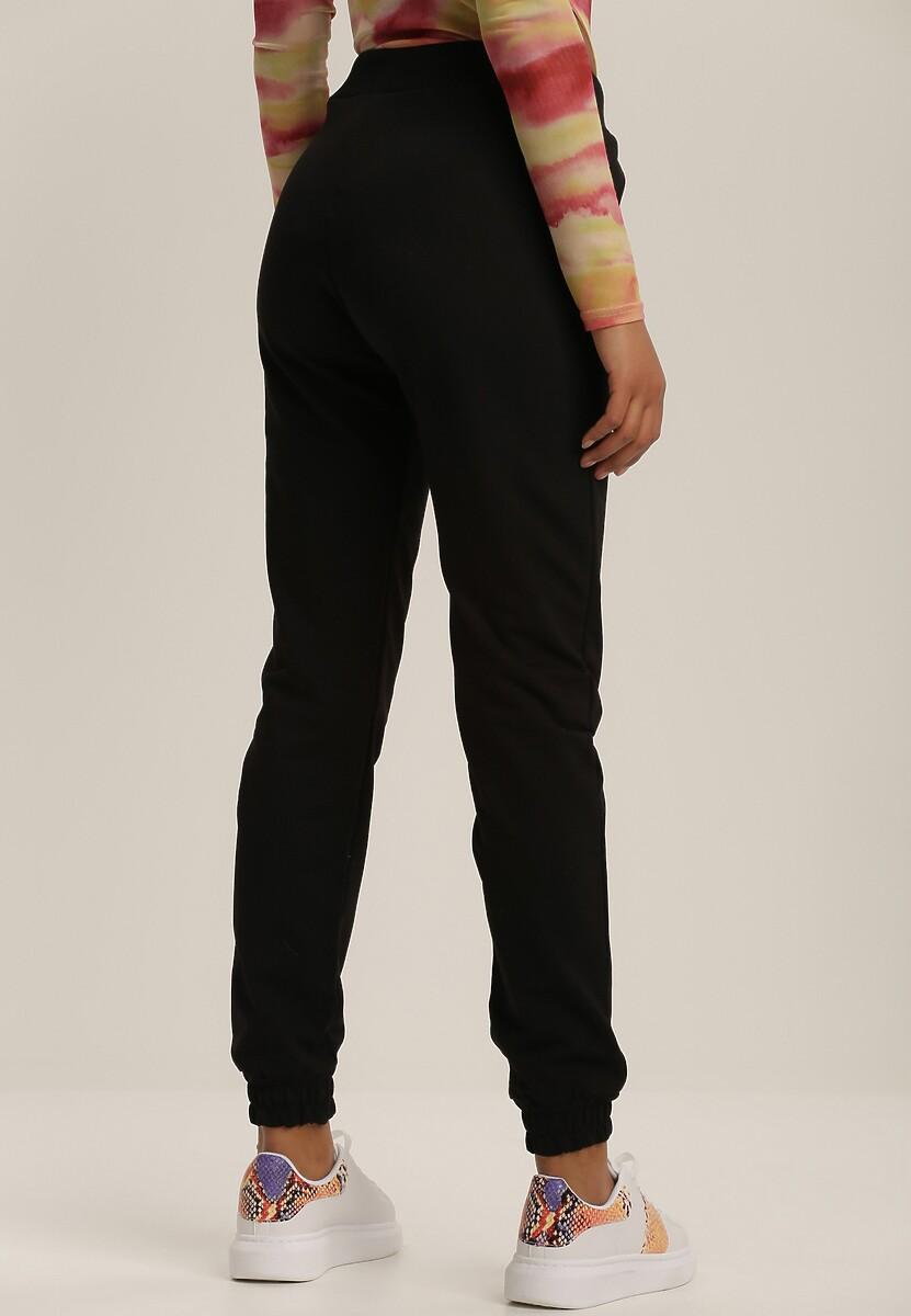 Czarne Spodnie Dresowe Dhysorin