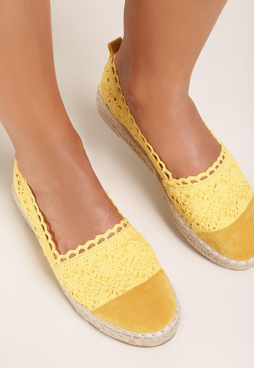 Żółte Espadryle Vylixis