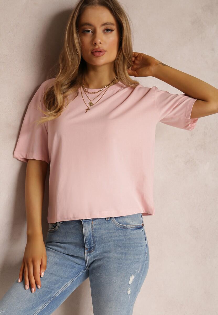Jasnoróżowy T-shirt Lyseleia