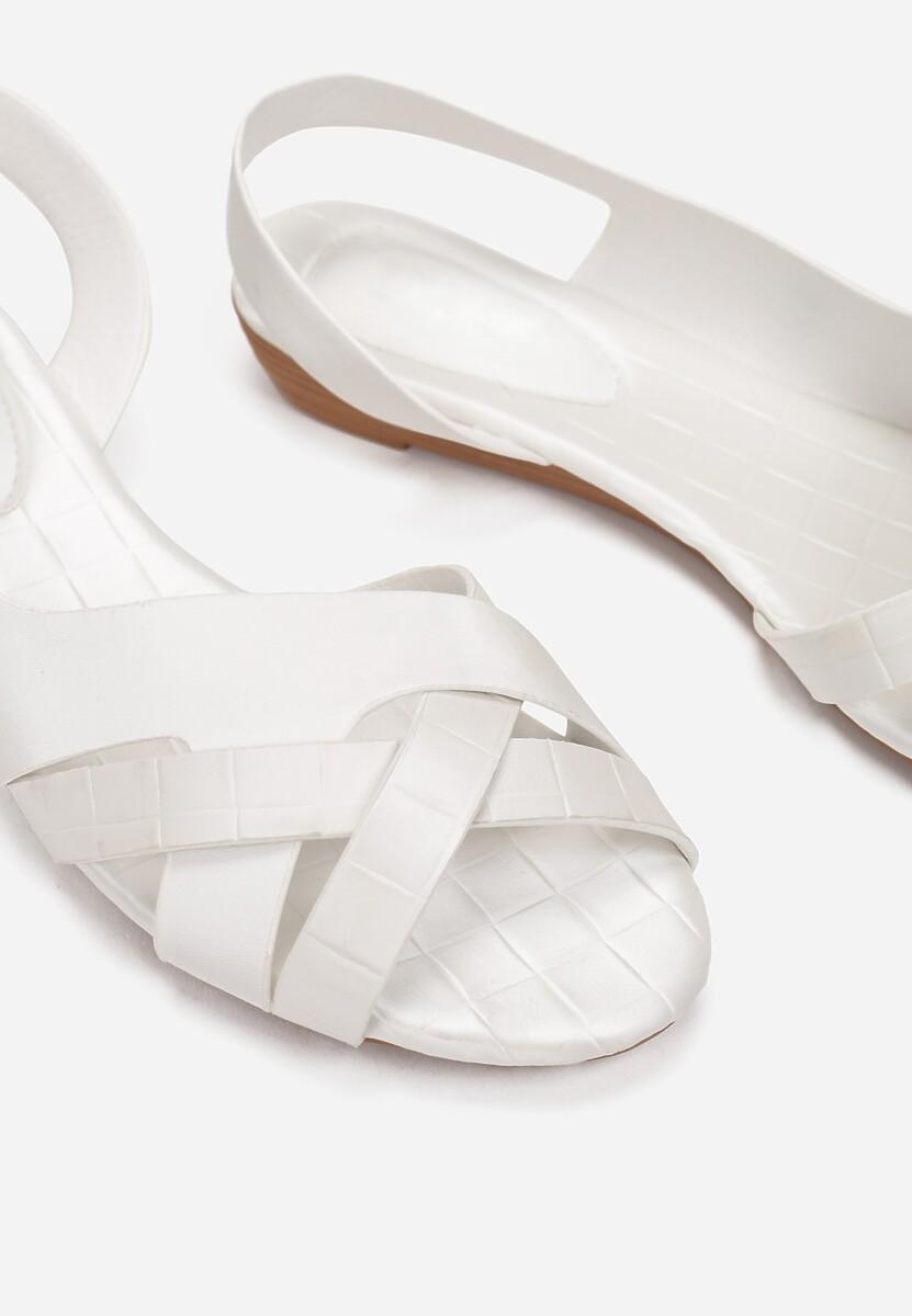 Białe Sandały Idahmei
