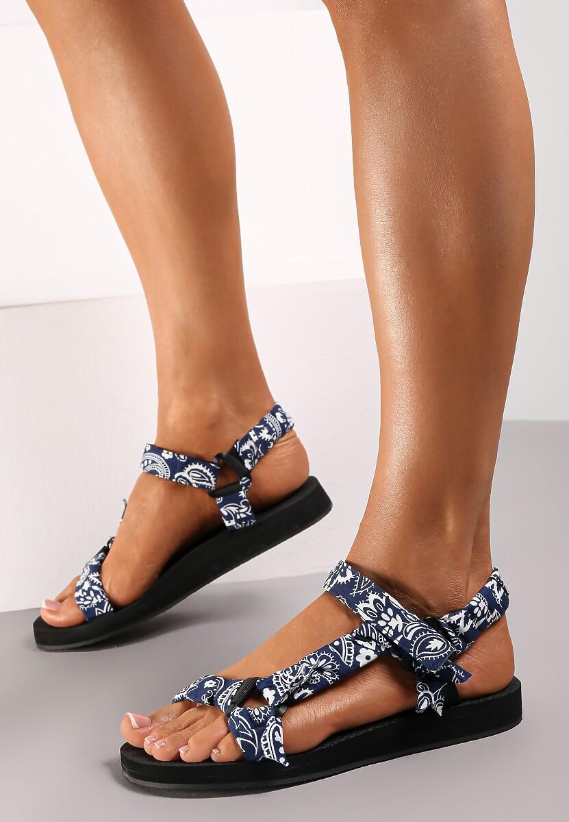Niebieskie Sandały Aerinia