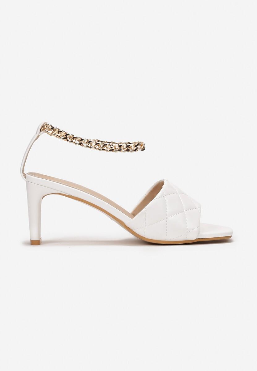 Białe Sandały Petosine