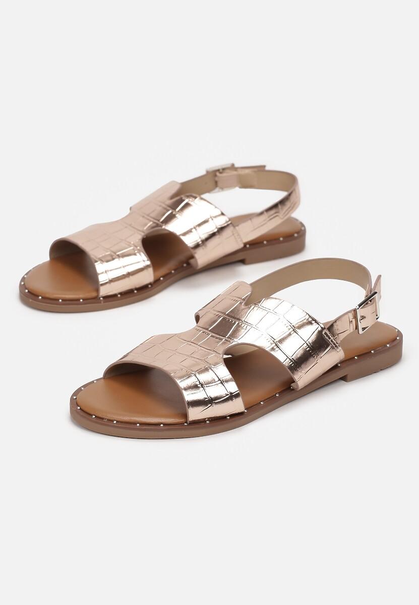 Szampańskie Sandały Sereibelle
