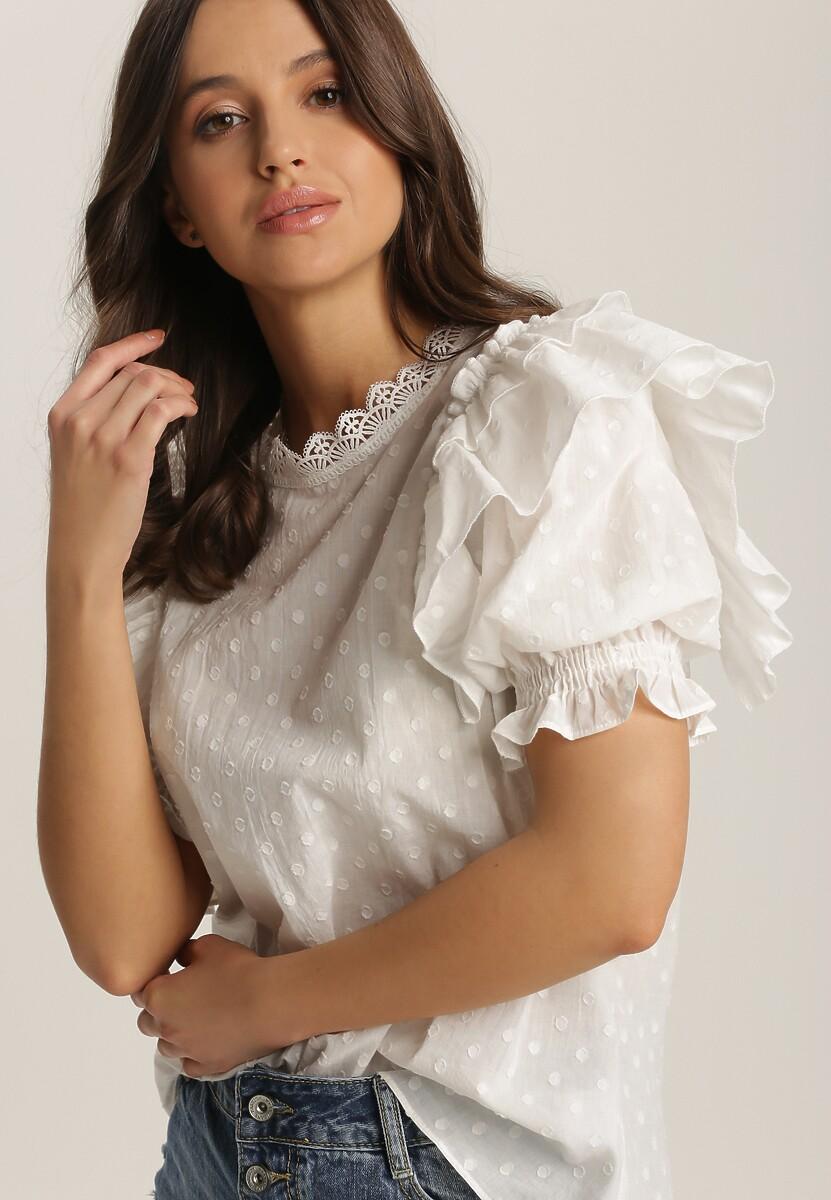 Biała Bluzka Sabithea
