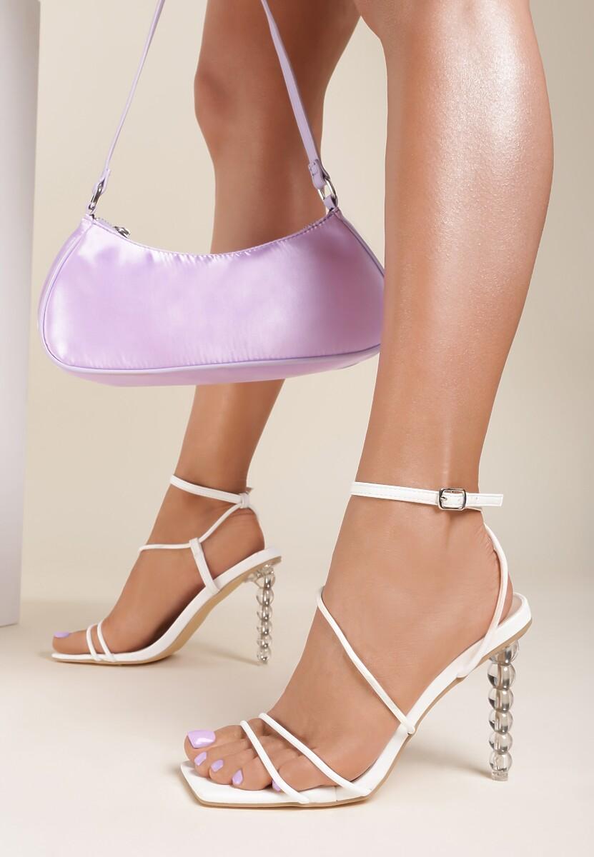 Białe Sandały Eriphetis