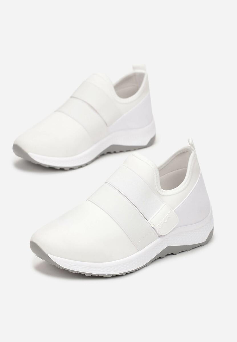 Białe Buty Sportowe Galironei
