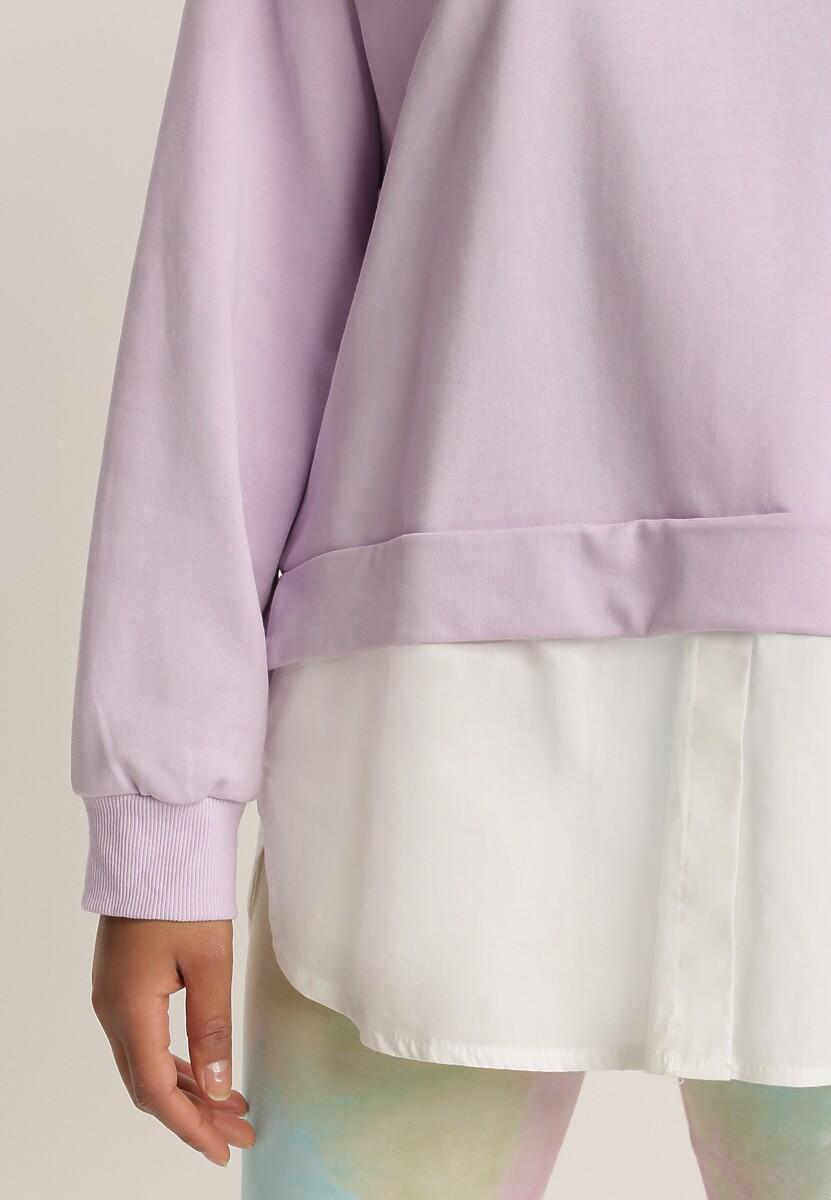 Liliowa Bluza Ilelaira