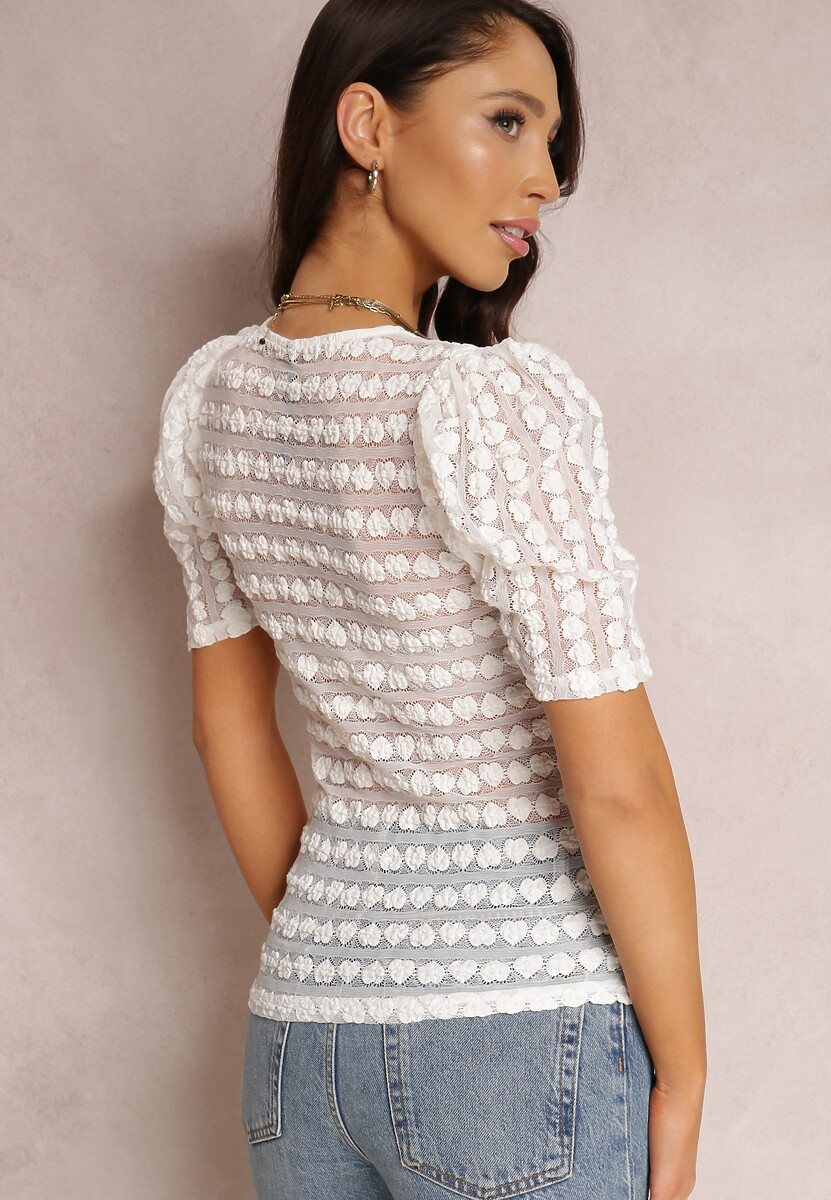 Biała Bluzka Thalaphine
