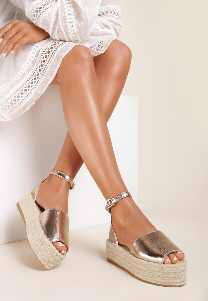 Szampańskie Sandały Salaphesis
