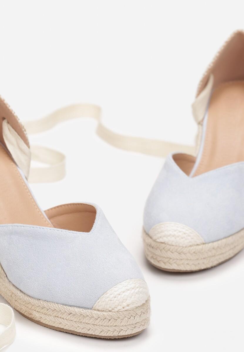Niebieskie Sandały Axiphisei