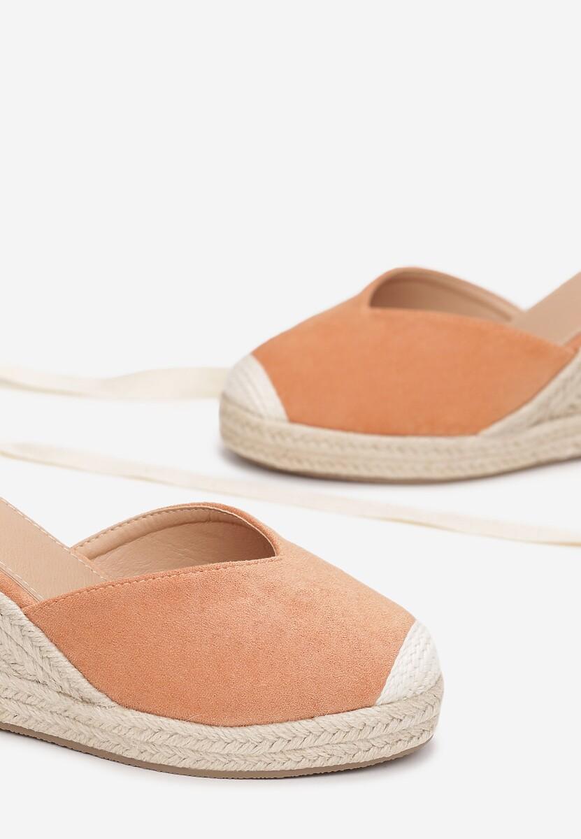 Pomarańczowe Sandały Axiphisei