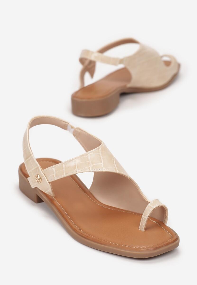 Beżowe Sandały Mystalise