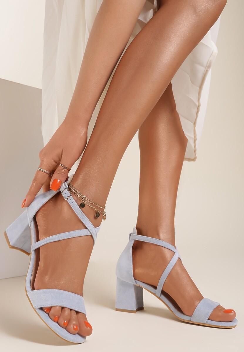 Niebieskie Sandały Pethisha