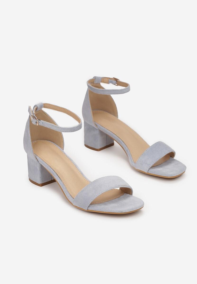 Niebieskie Sandały Leucassa