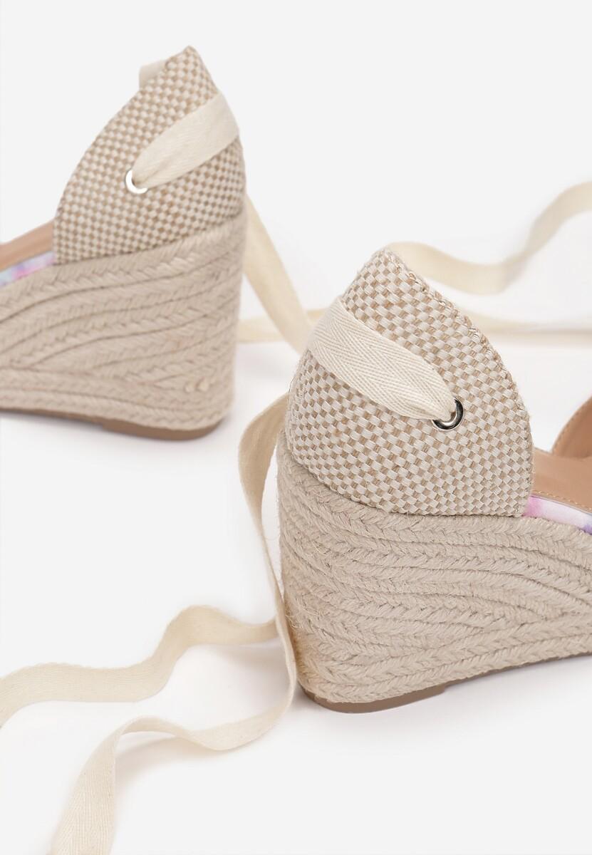 Liliowe Sandały Orphiphise