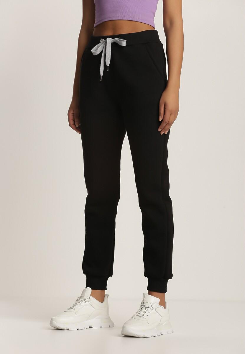 Czarne Spodnie Dresowe Cnassiche