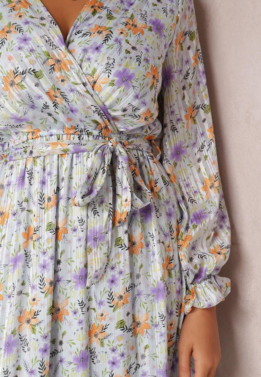 Jasnoniebieska Sukienka Ashisha