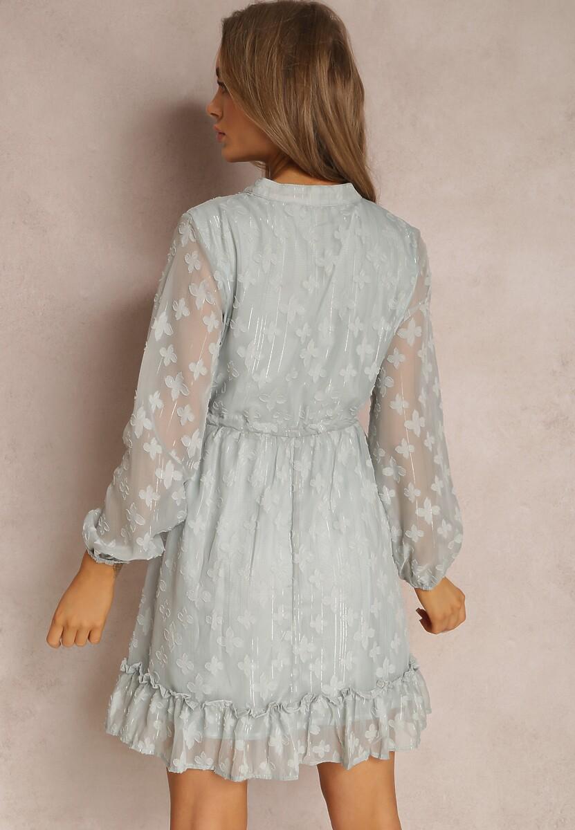 Miętowa Sukienka Thosetis