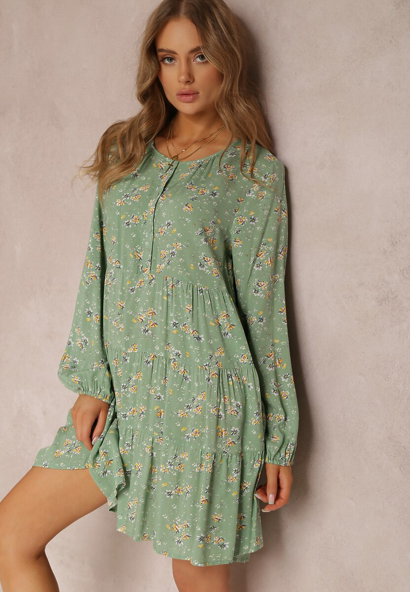 Zielona Sukienka Acoseusa