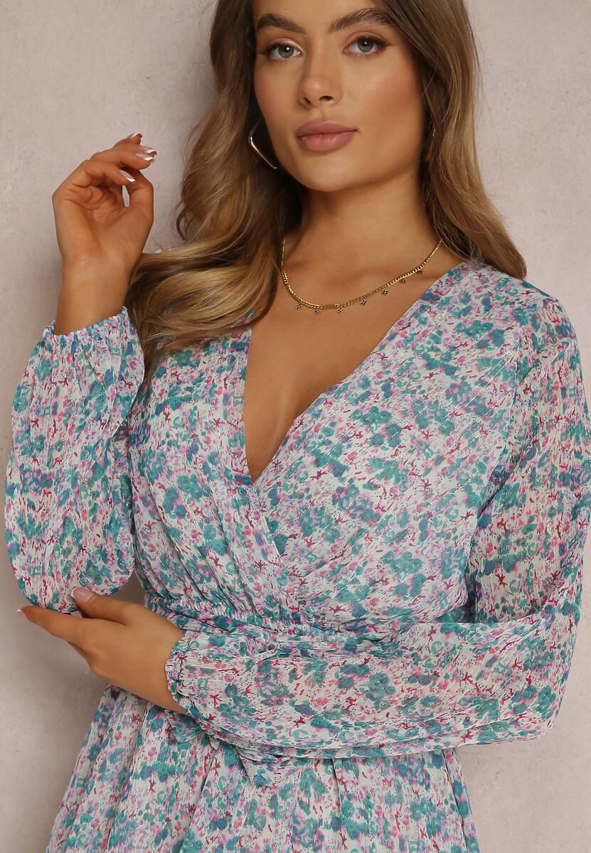 Miętowa Sukienka Nethisa