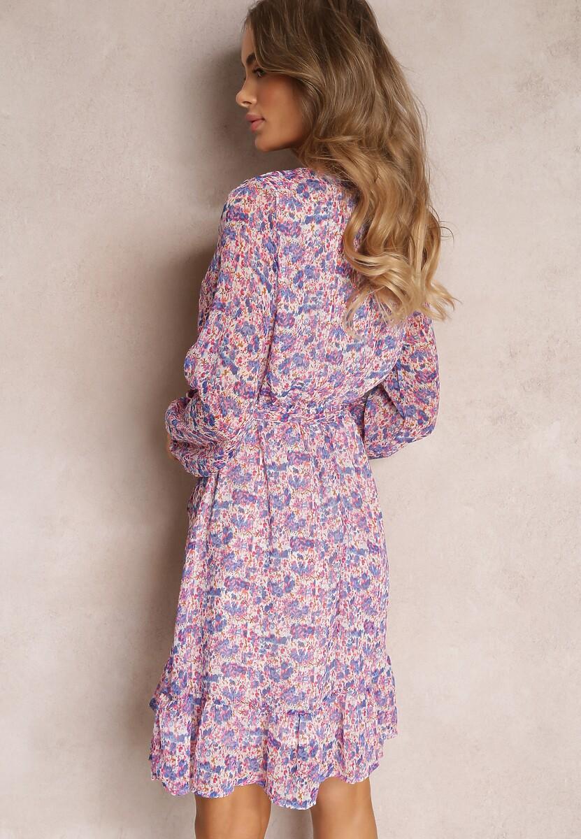 Liliowa Sukienka Nethisa