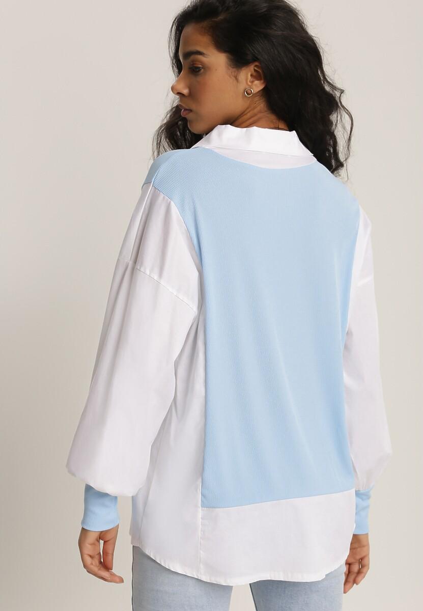 Jasnoniebieska Koszula Aethiphis