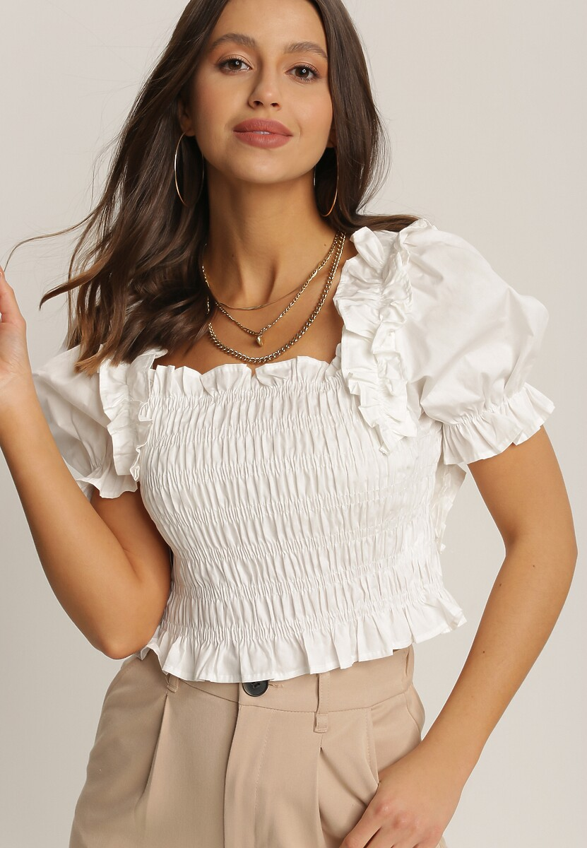 Biała Bluzka Kathalise