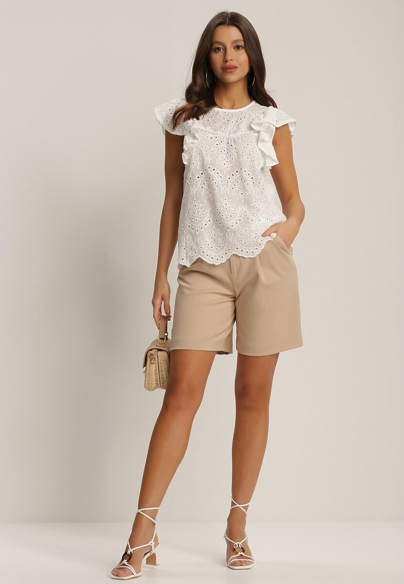 Biała Bluzka Mathilis