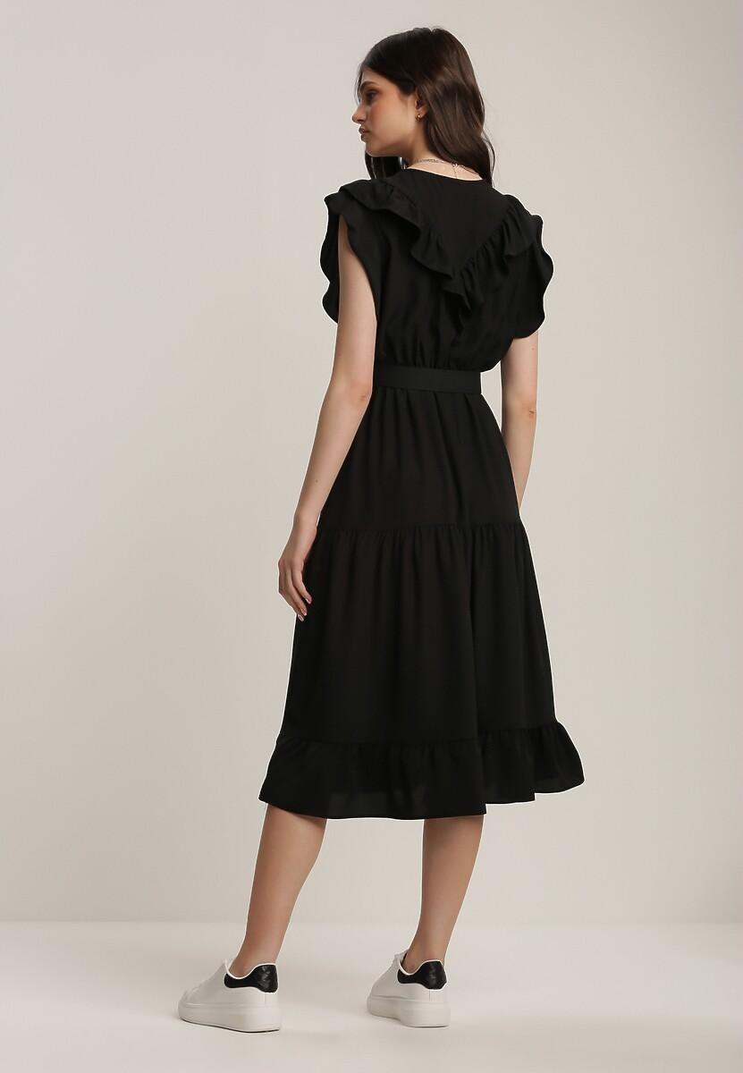 Czarna Sukienka Zafa