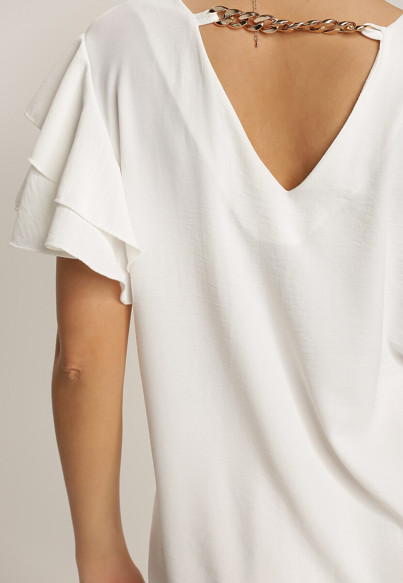 Biała Bluzka Pixiphaeia