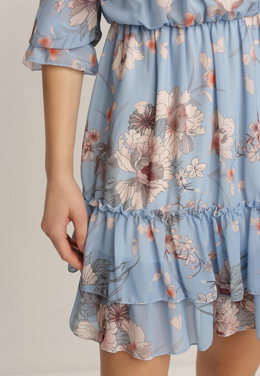 Niebieska Sukienka Meniphyse