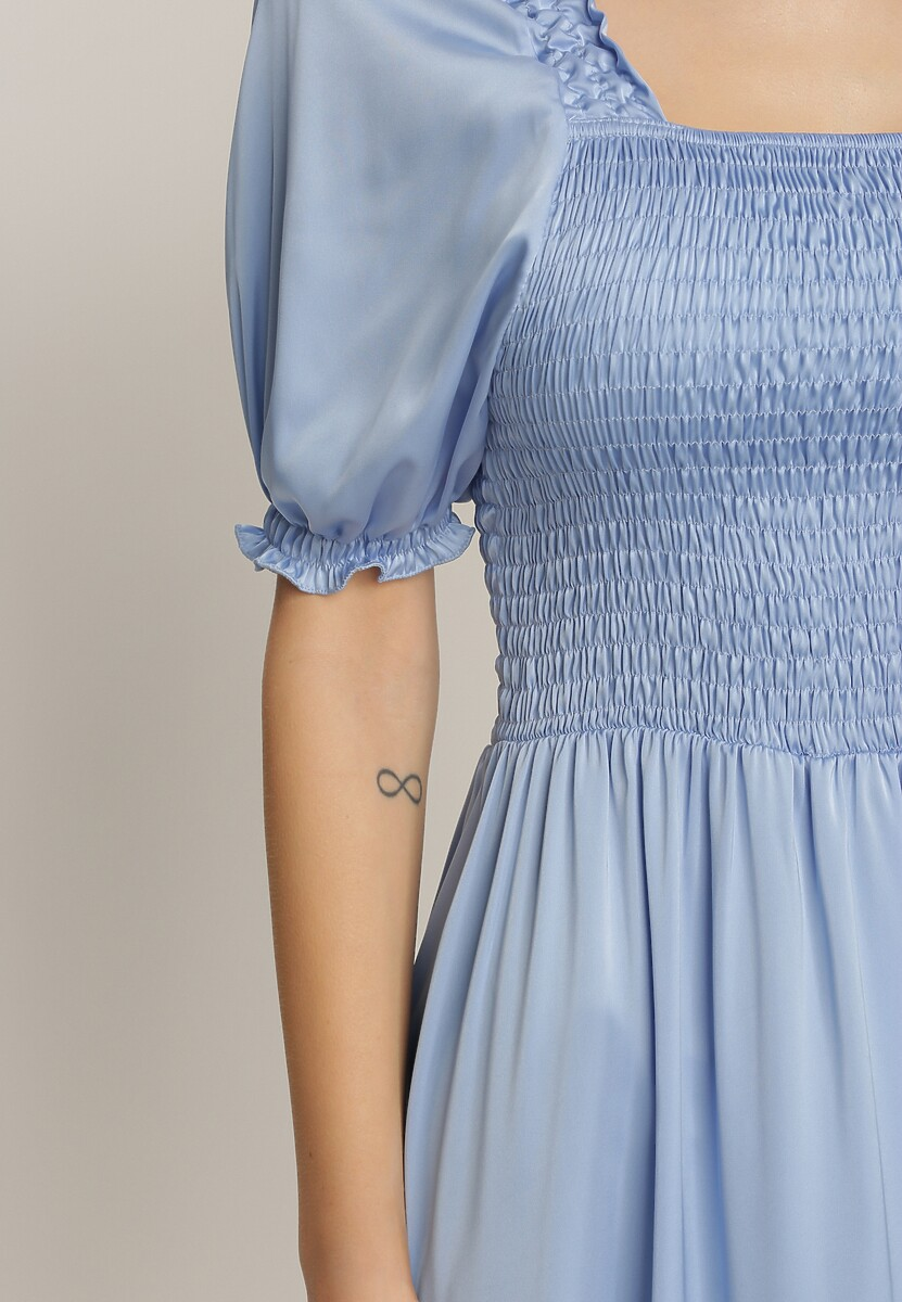 Niebieska Sukienka Fysersya