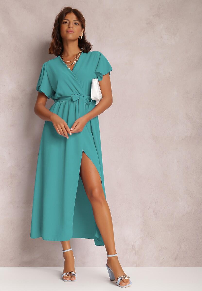 Niebieska Sukienka Lilysh