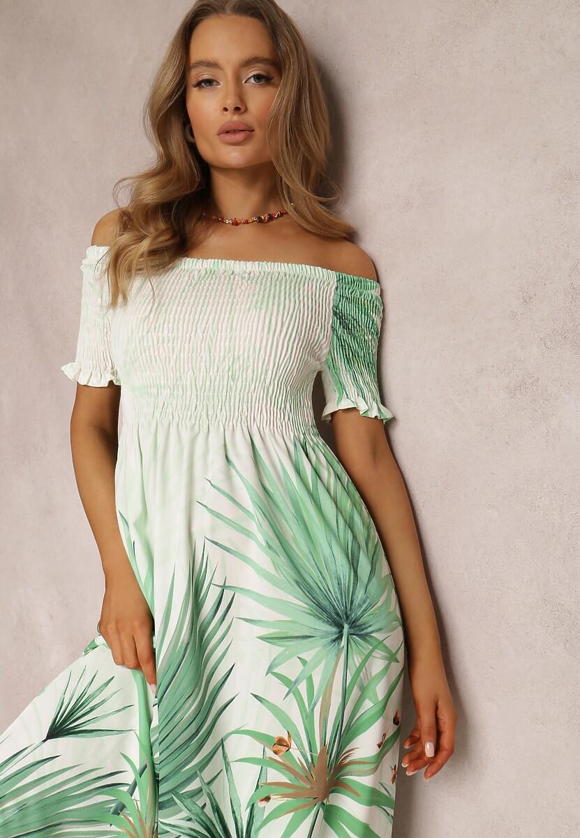 Zielona Sukienka Fyrova