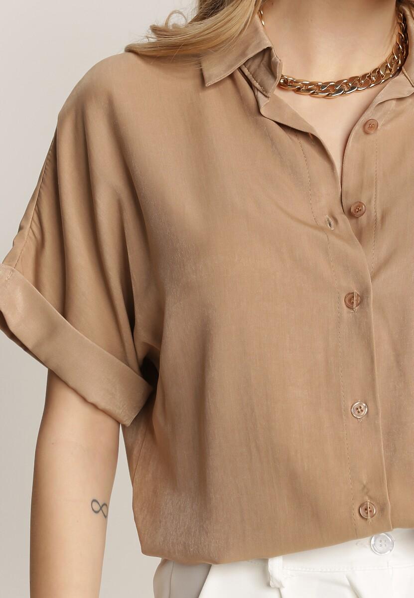 Beżowa Koszula Thelaris