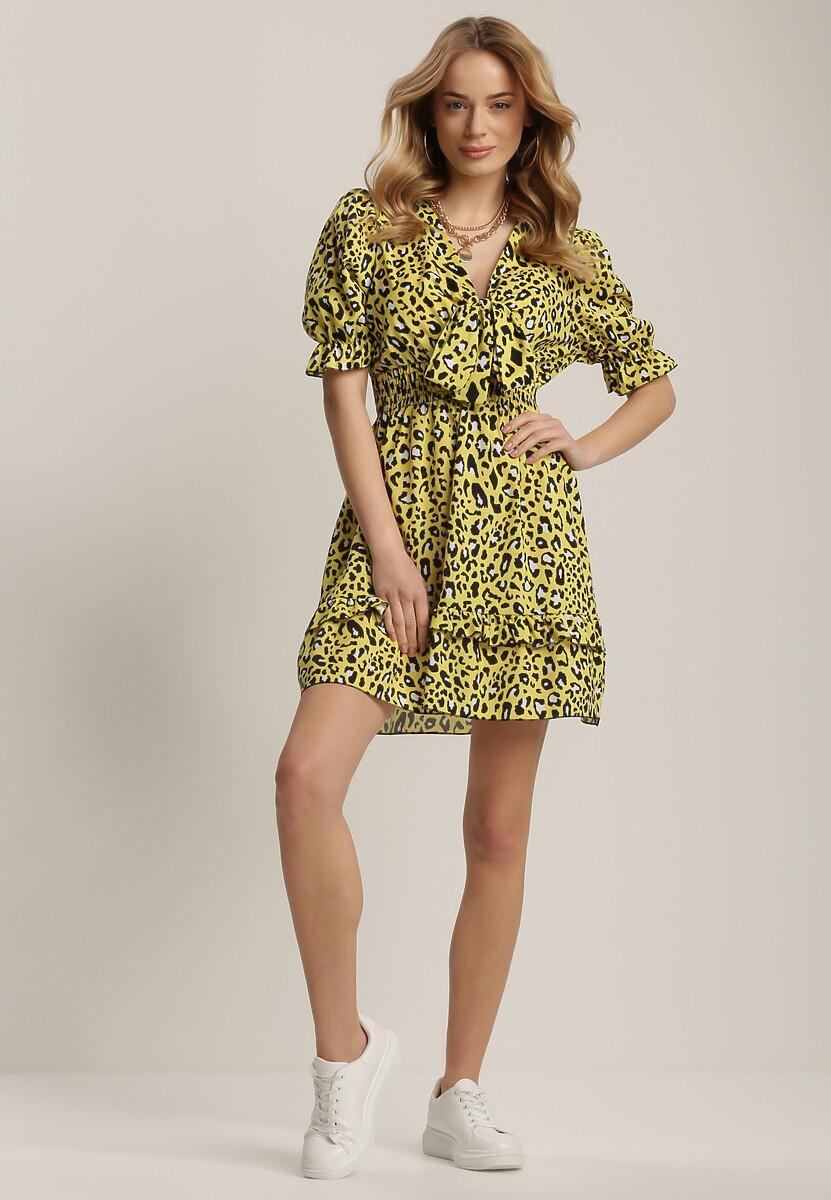 Żółta Sukienka Nymoth