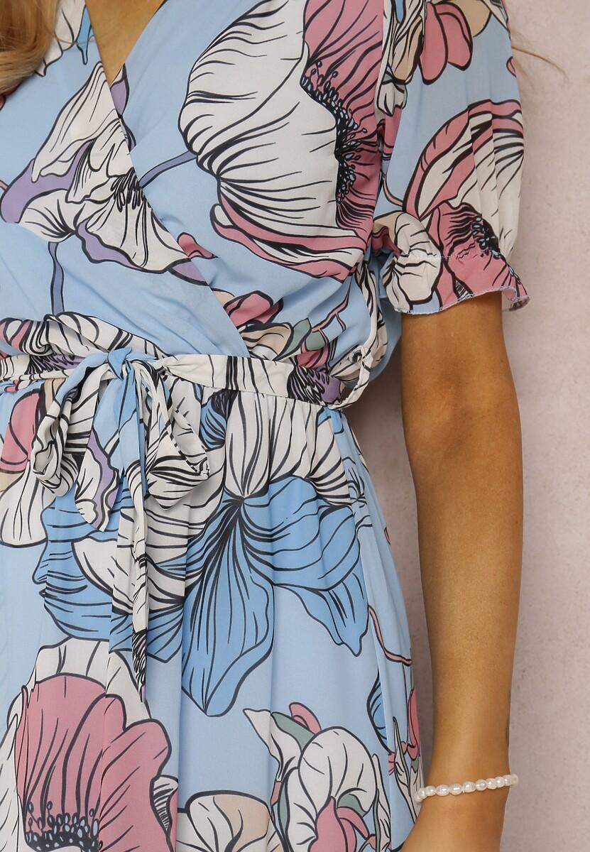 Niebieska Sukienka Xyliana