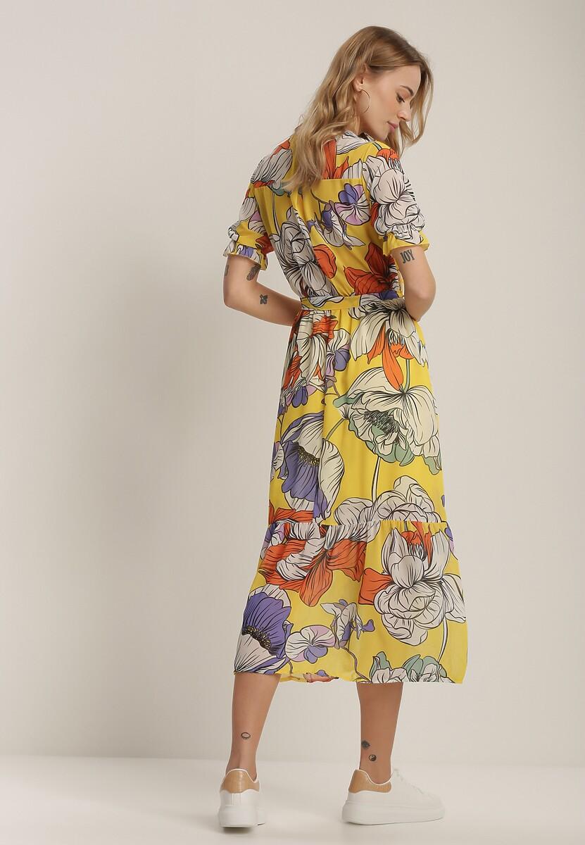Żółta Sukienka Xyliana
