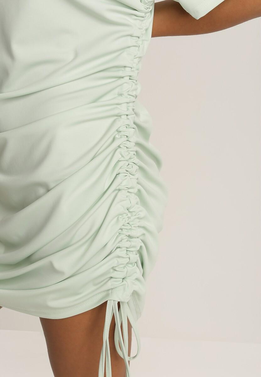Miętowa Sukienka Bwyntila