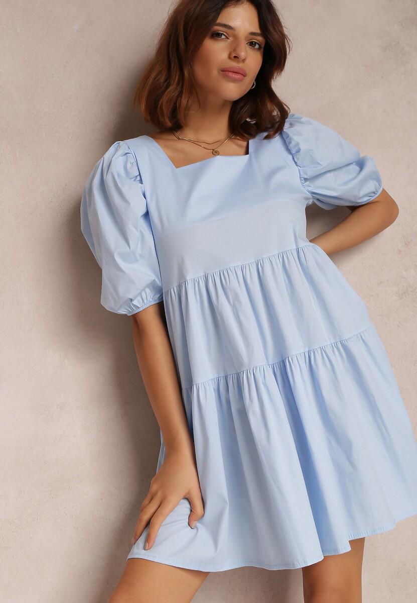 Jasnoniebieska Sukienka Taliciane