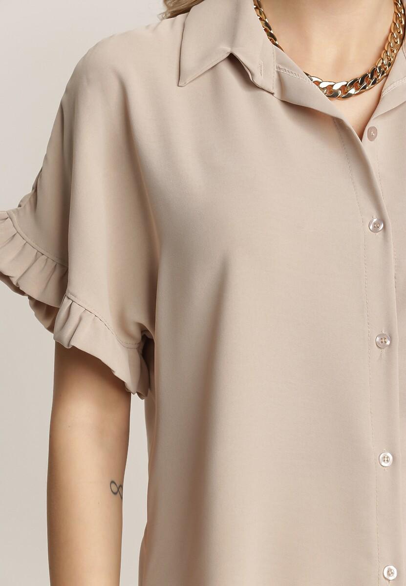 Beżowa Koszula Nedasis