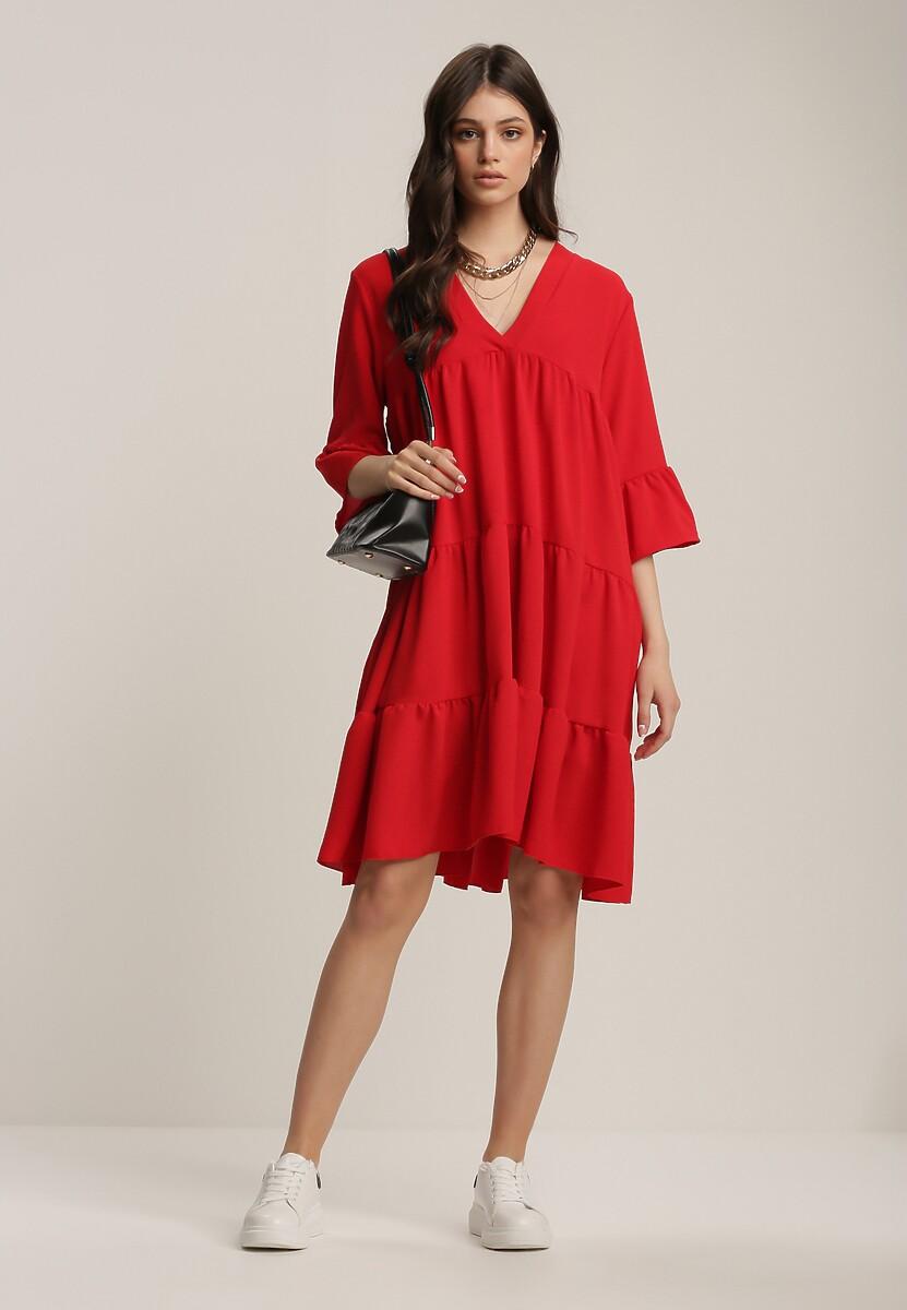 Czerwona Sukienka Jeniefa