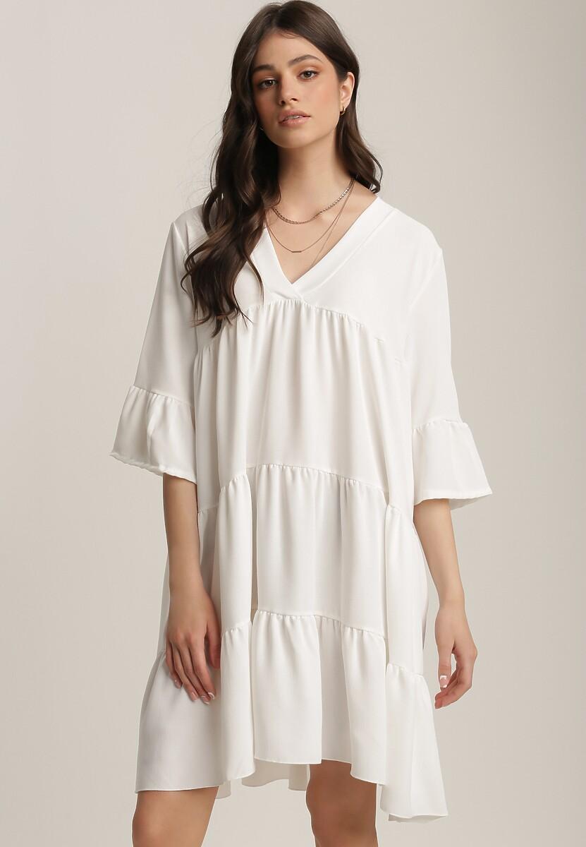 Biała Sukienka Jeniefa