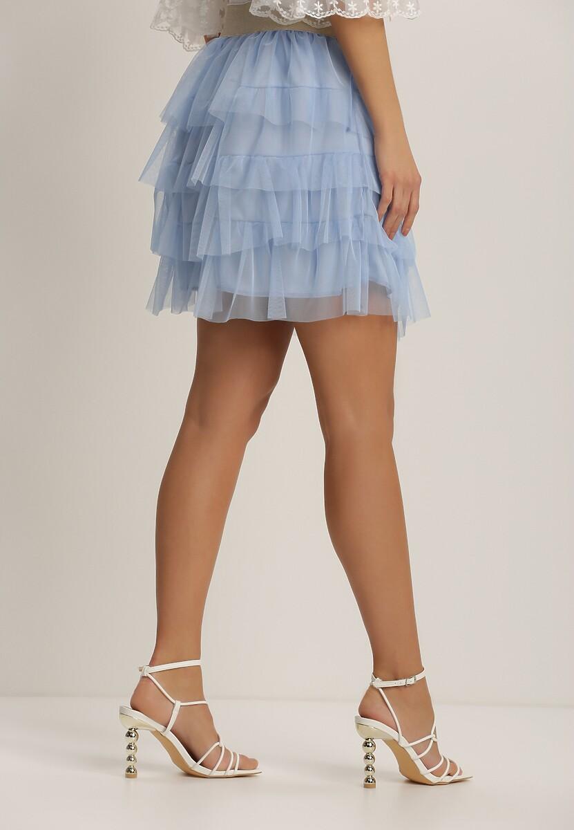 Niebieska Spódnica Molseise