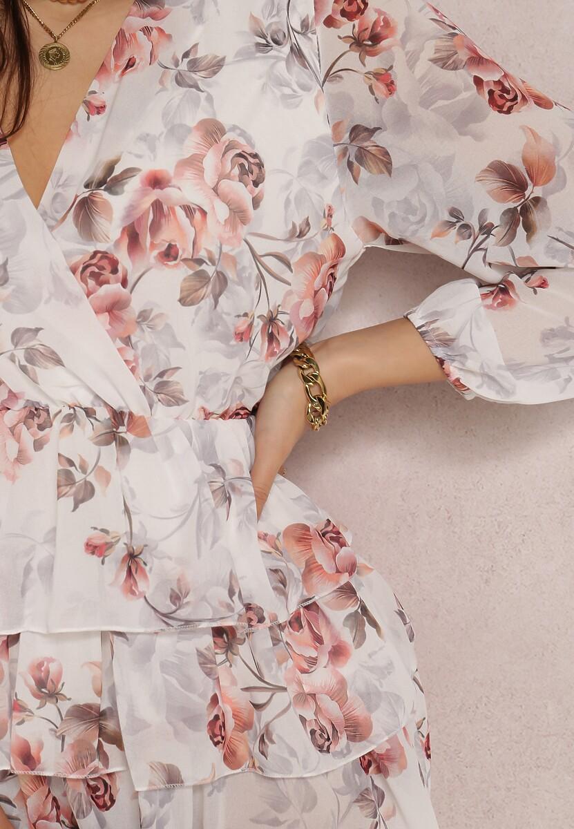 Biała Sukienka Vaqirelle