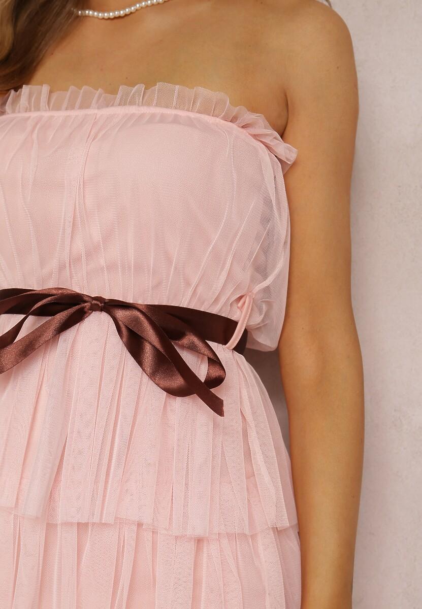 Różowa Sukienka Lidanea