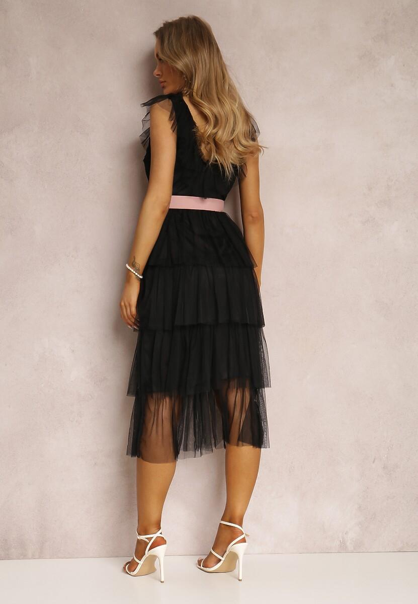 Czarna Sukienka Parsiphe