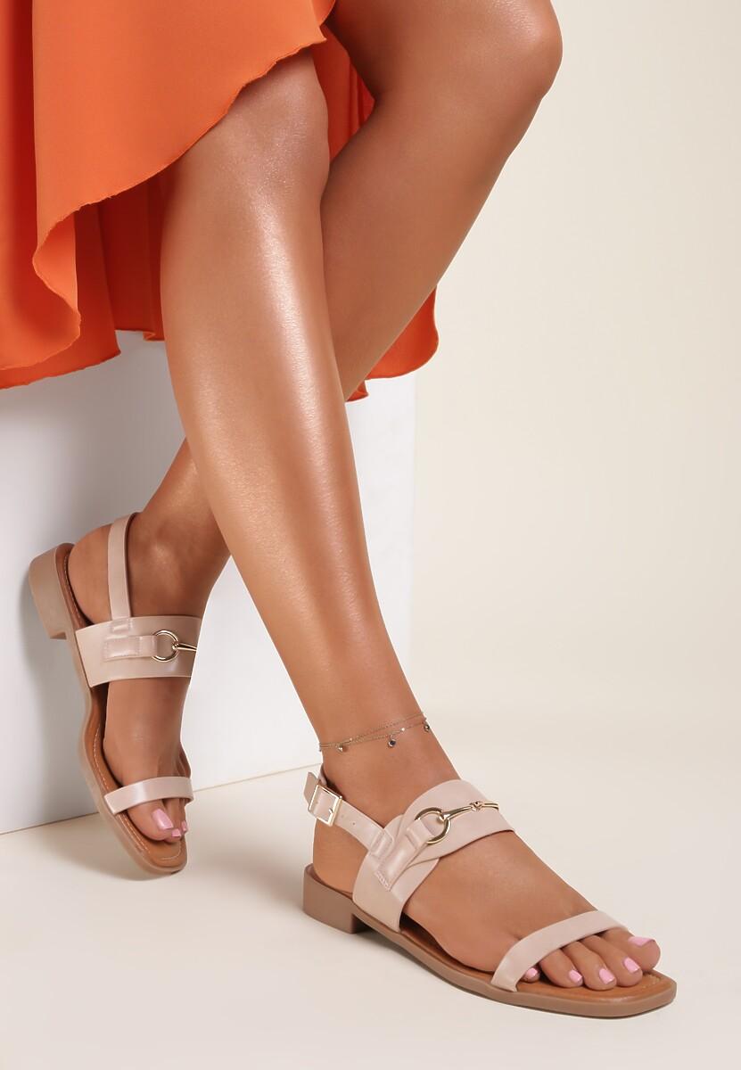 Różowe Sandały Thoniliana