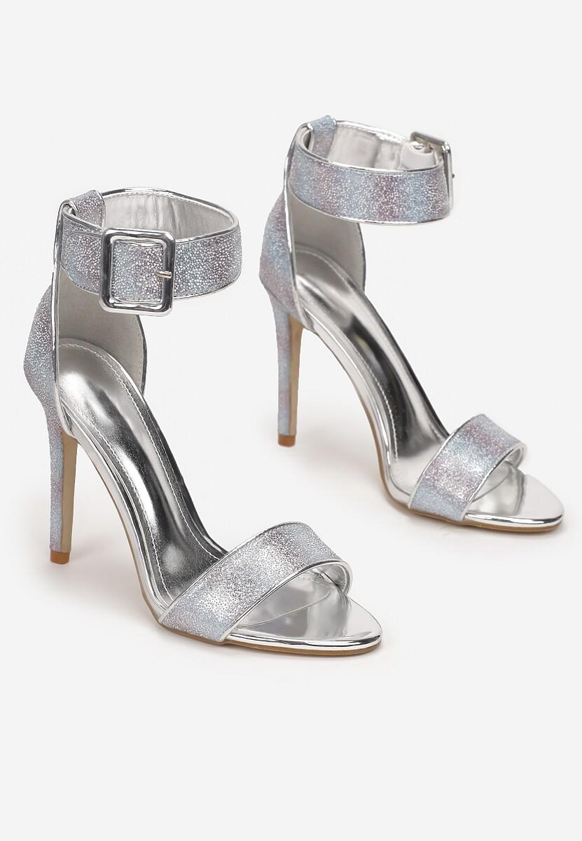 Niebieskie Sandały Sabrirose